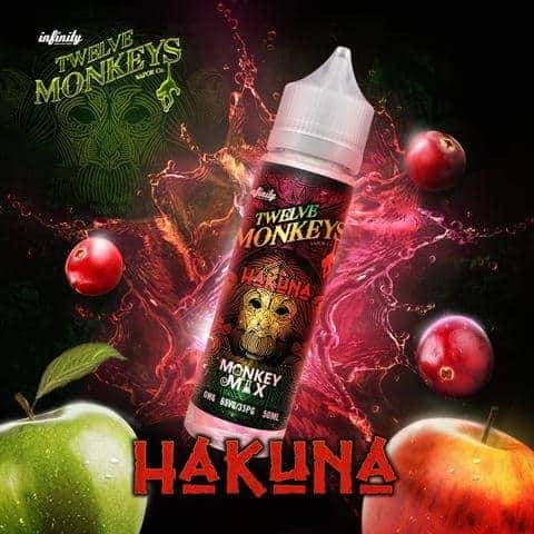 HAKUNA E LIQUID BY 12 MONKEYS 50ML 65VG