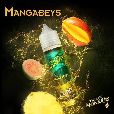 MANGABEYS E LIQUID BY 12 MONKEYS 50ML 75VG