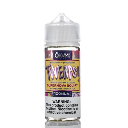TWERPS SUPERNOVA SQUIRT E LIQUID BY OKVMI - ROCKT PUNCH 100ML 70VG