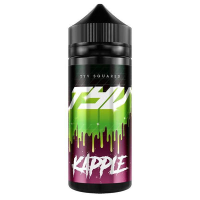 KRAPPLE E LIQUID BY TYV SQUARED 100ML 70VG