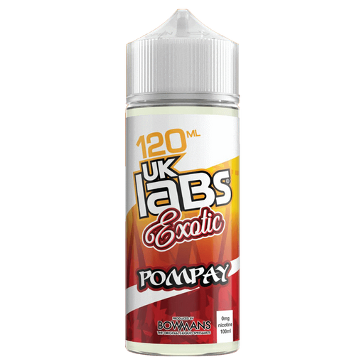 POMPAY E LIQUID BY UK LABS - EXOTIC 100ML 70VG