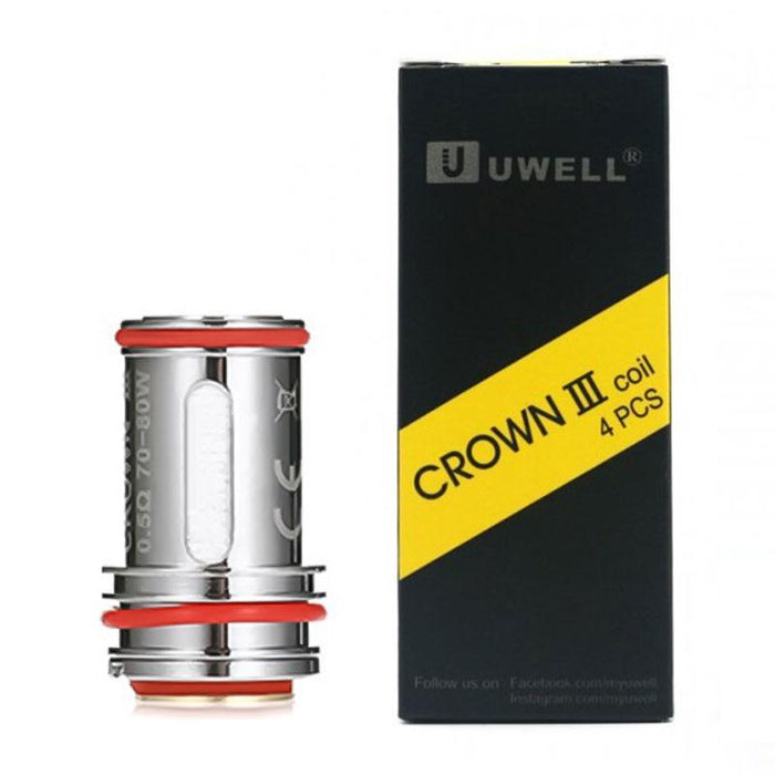 UWELL CROWN 3 REPLACEMENT VAPE COILS - Eliquids Outlet