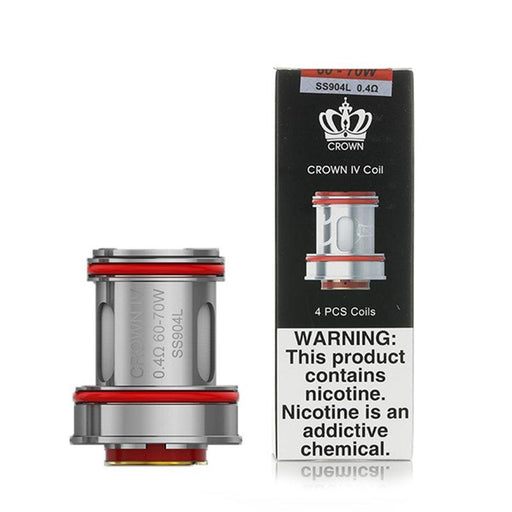 UWELL CROWN IV REPLACEMENT VAPE COILS - Eliquids Outlet