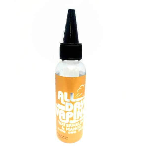 WATERMELON MANGO RASPBERRY E LIQUID BY ALL DAY VAPING 50ML 70VG