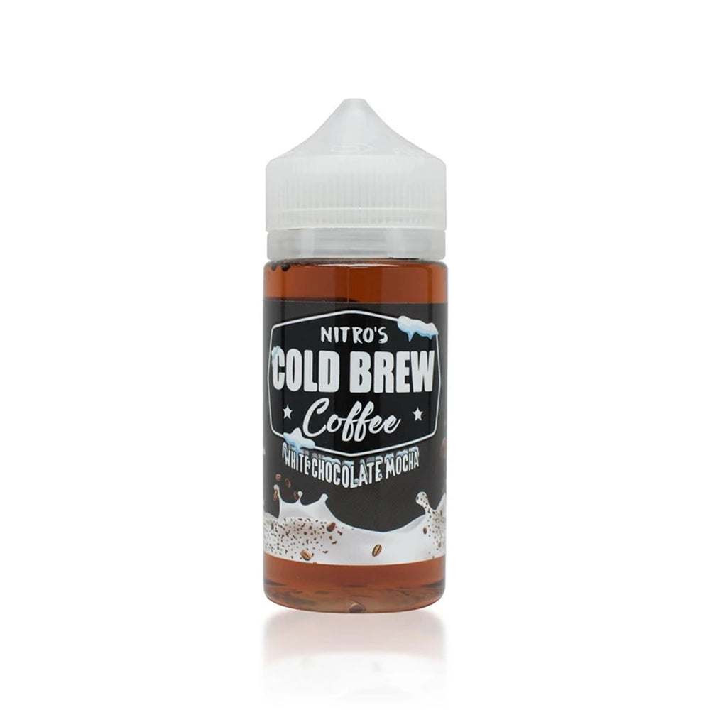 WHITE CHOCOLATE MOCHA E LIQUID BY NITROS COLD BREW COFFEE 100ML 70VG