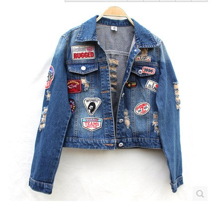 Applique Jacket Women