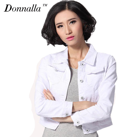 Short Jeans Overcoat Ladies Jacket