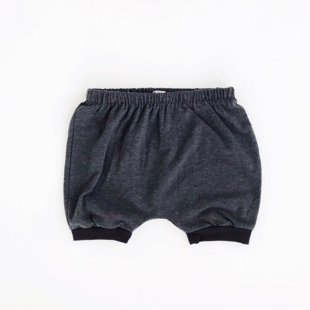 charcoal grey SHORTIES