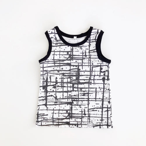 ink splatter tank top