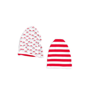 REVERSIBLE holiday beanies