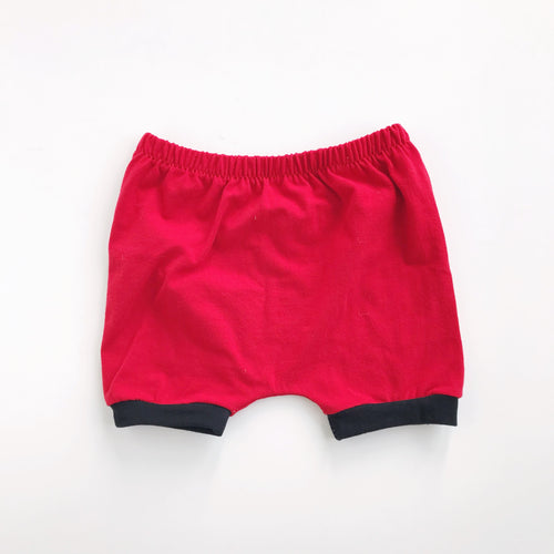 red and black SHORTIES
