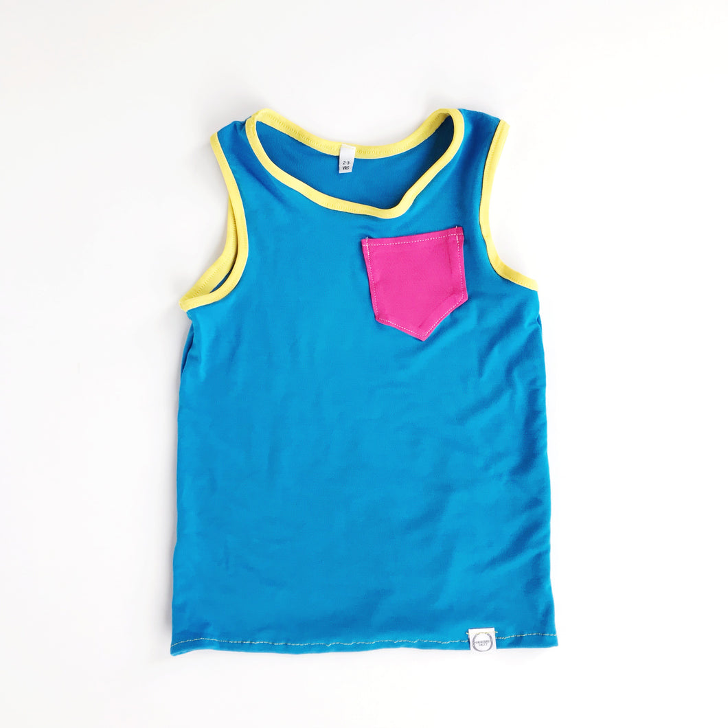 colorblock tank top