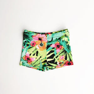 tropical floral swimmies