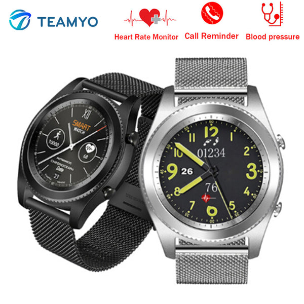 smart sports bluetooth black alcohol rate heart test monitor fitness blood watches item pressure watch allergy
