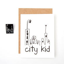 city kid card