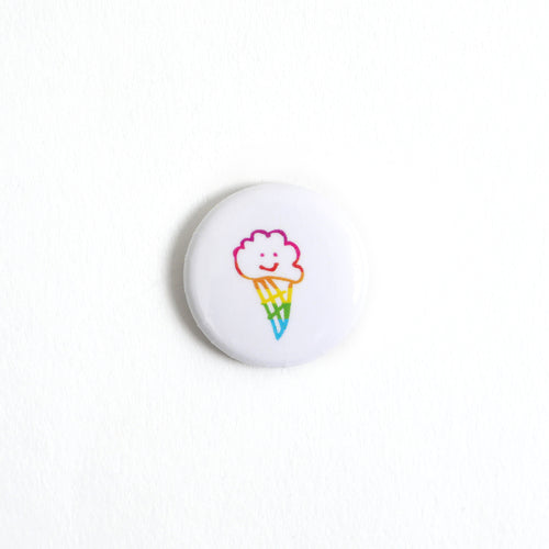 happy ice cream button