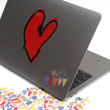 heart vinyl decal