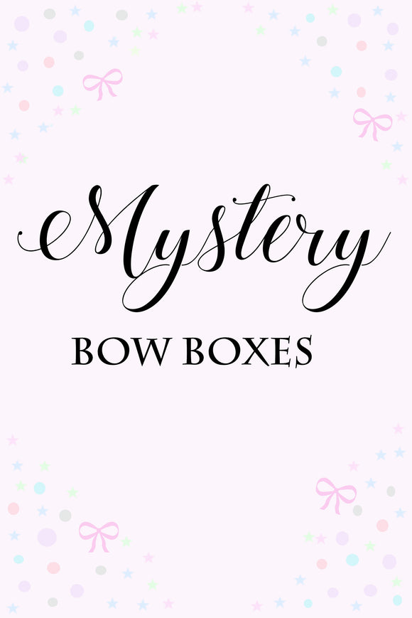 Mystery Bow Boxes