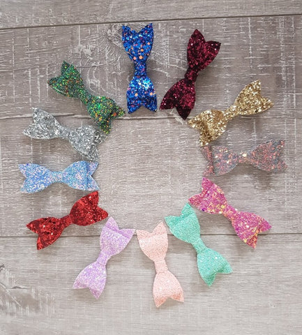 Original Glitter Bows - 18 Colours