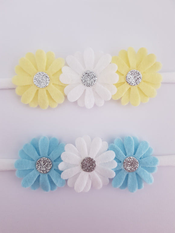 Daisy Felt Headbands