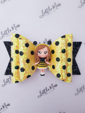 Busy Bee Bow - Large