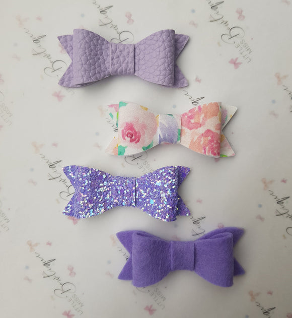Purple Indie Bows