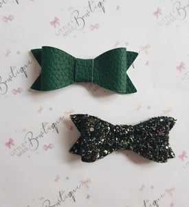 Green Indie Bows