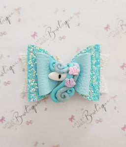 Under the Sea unicorn bow