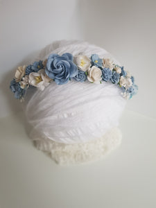 Blue flower crown - Style Two