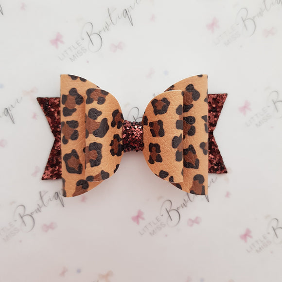 Leopard Double Bow