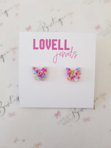 Confetti Butterfly Earrings
