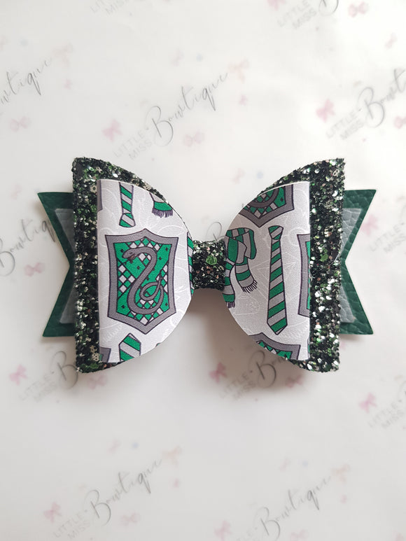 Slytherin house bow
