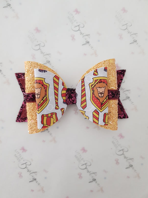 Gryffindor house bow
