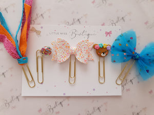 Brights paper clip set