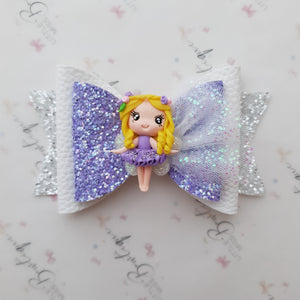 Purple Fairy Bow
