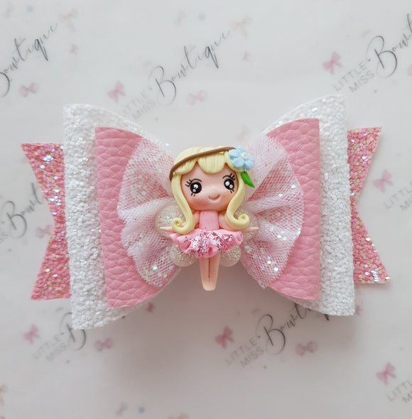 Pink Fairy Bow