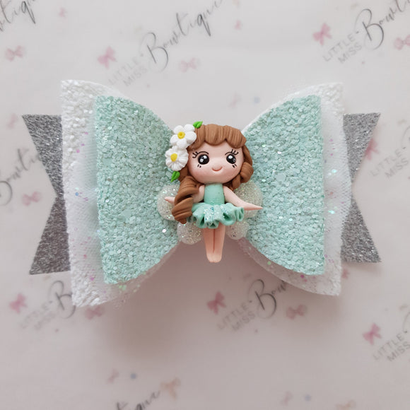 Mint Fairy Bow