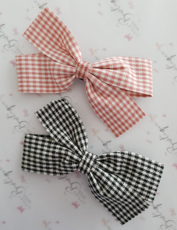 PRE ORDER Gingham Clips