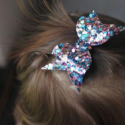 Azure Kisses Bow