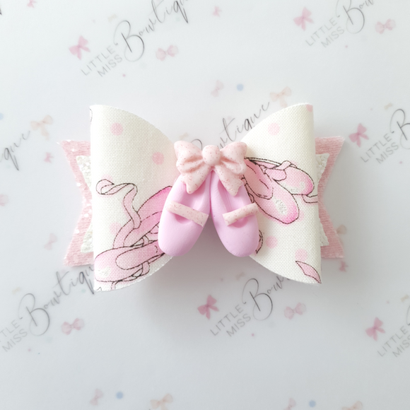 Pretty in Pink Ballet Bow