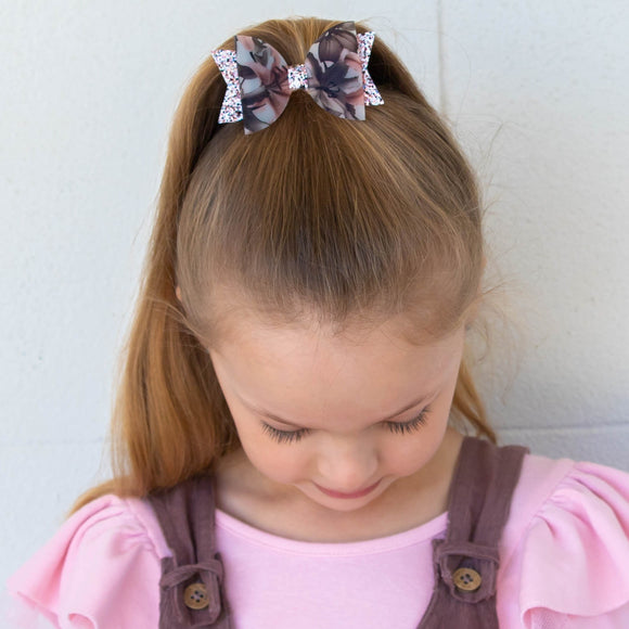 Lily Copper Bow