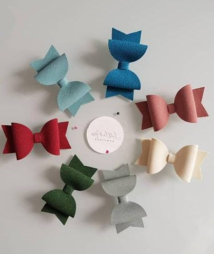 Suede Bows - 14 Colours