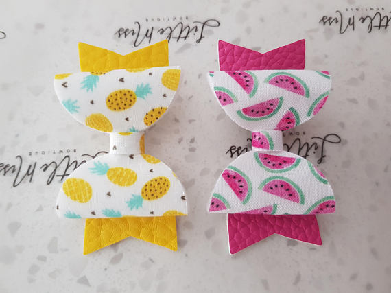 Summer Fruit Bows
