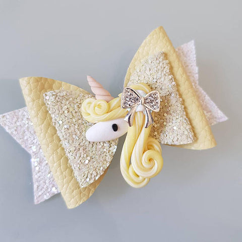 Sunshine Unicorn Bow