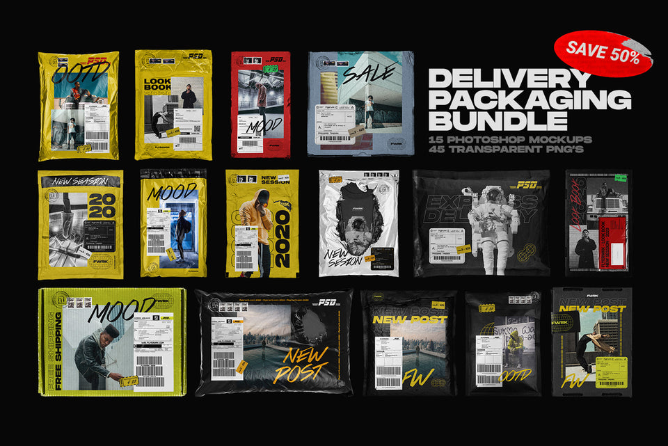 Delivery Packaging Bundle