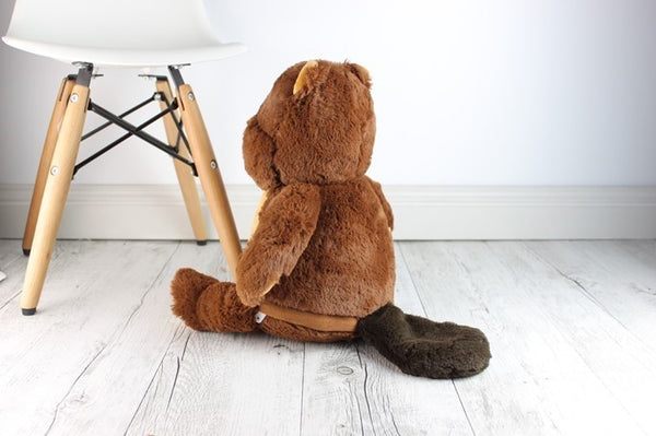 Personalised Teddy Bear - Beaver Cubbie