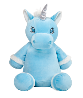 Teddy Bear - Blue Unicorn - Teddie & Lane