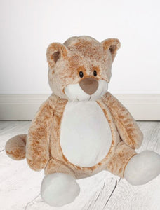 Personalised Teddy Bear - Claire Cat 16 inch