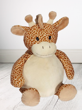 Personalised Teddy Bear - Giraffe Embroider Bear