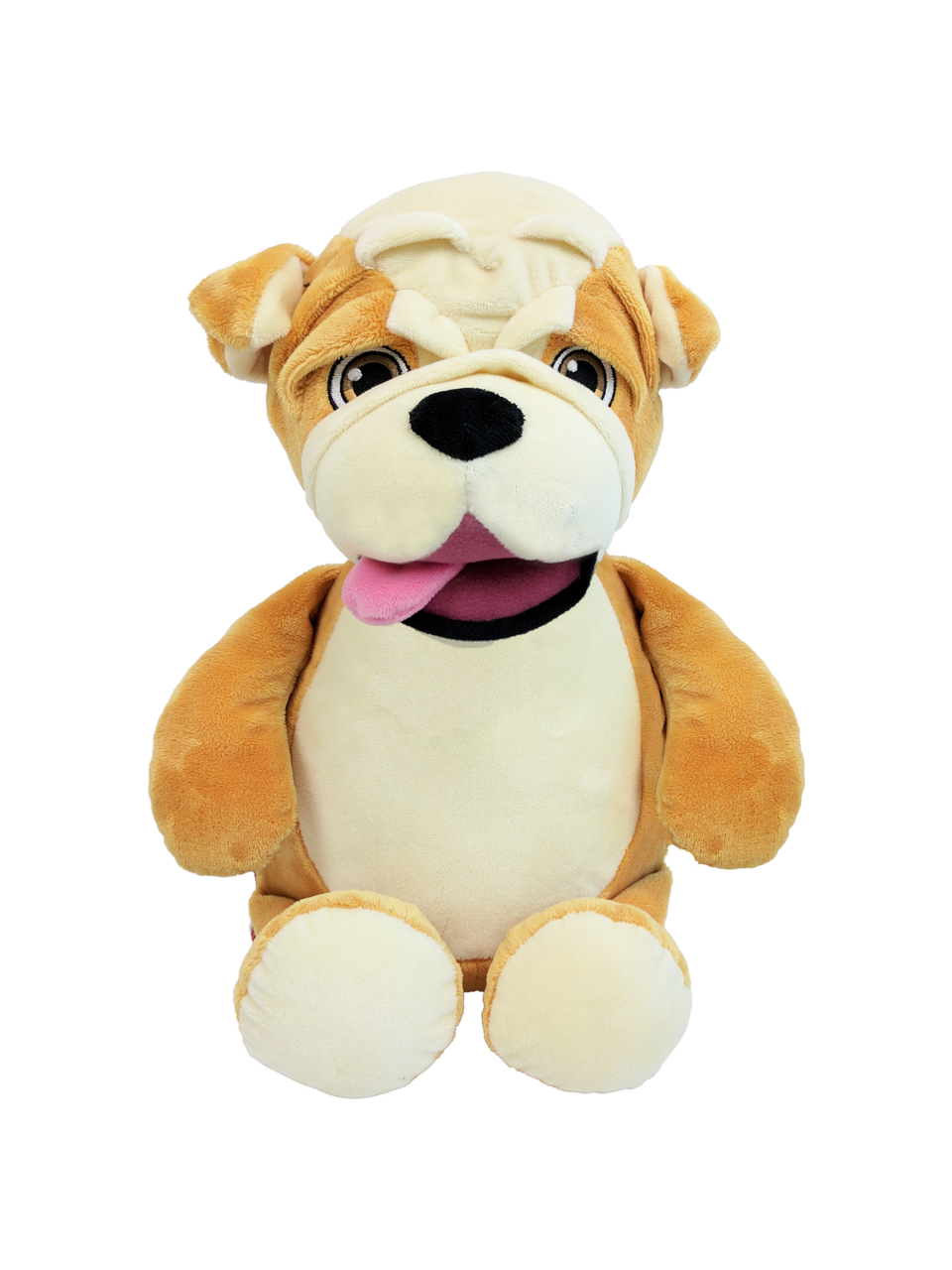 Personalised Teddy Bear - Signature Bulldog